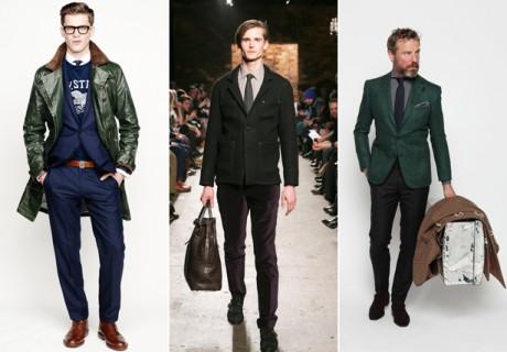 ESQ fashion week color trend green 2013