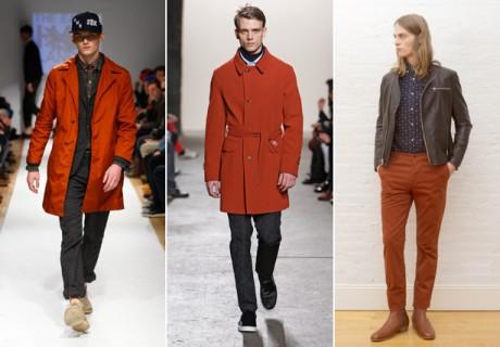 ESQ fashion week trend burnt orange 2013