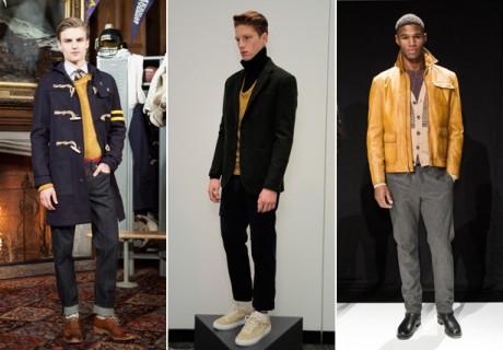 ESQ fashion week trend mustard yellow 2013
