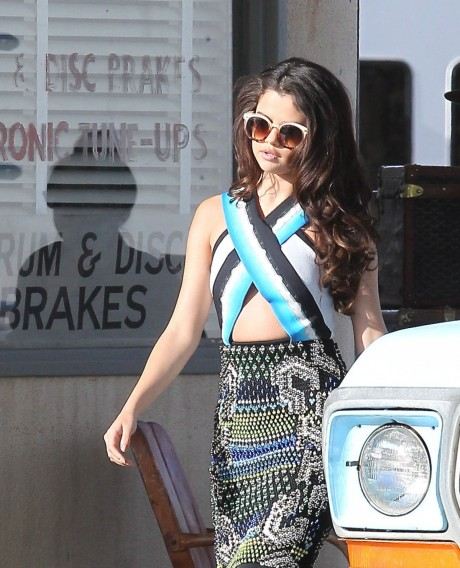 Selena Gomez Fashion Show