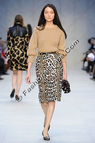 Burberry Prorsum London Fall Collection 2013