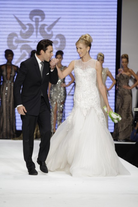 Nicolas Felizola at Excellence in Eveningwear Award