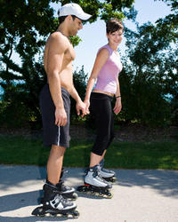 Ordinary Dates Idea Rollerblading