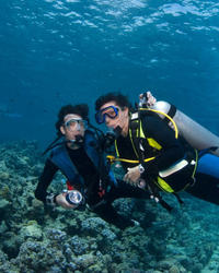 Scuba Diving Ordinary Dates Idea