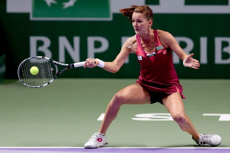 Agnieszka Radwanska Hot Tennis Photo