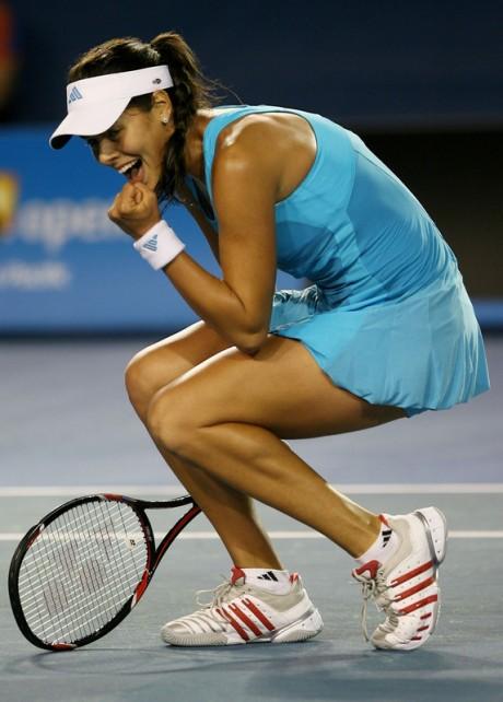 Ana Ivanovic Winning Pose Picture