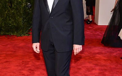 Christoph Waltz in Met ball 2013 Men Fashion on Night