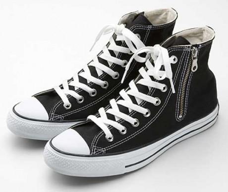 Black Color Converse Sneakers