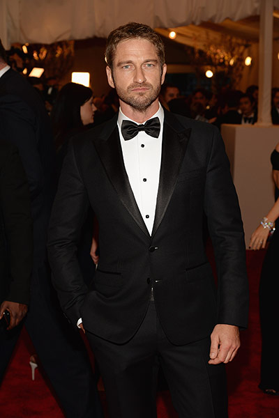 Met ball 2013 Men Fashion on Night Gerard Butler