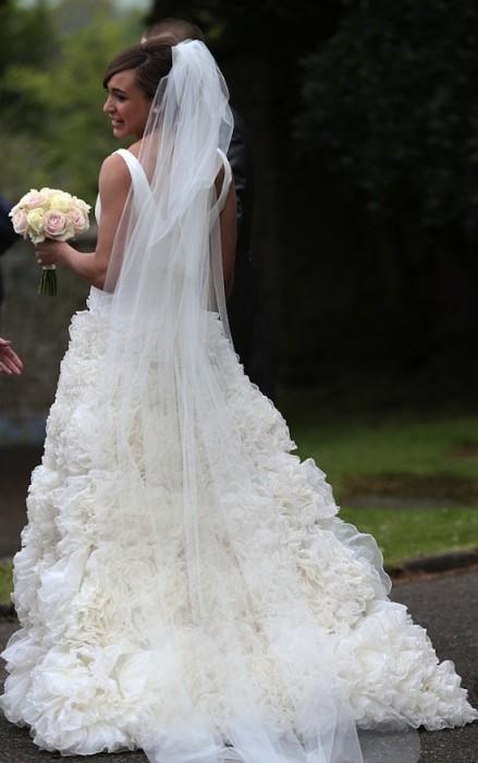 Jessica Ennis's Wedding Photo
