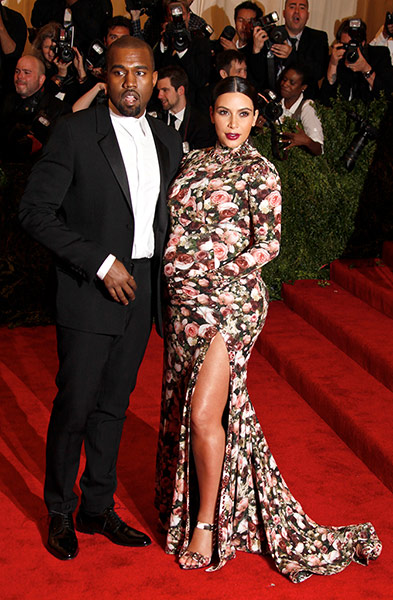 Kim Kardashian in New York Met Ball fashion 2013