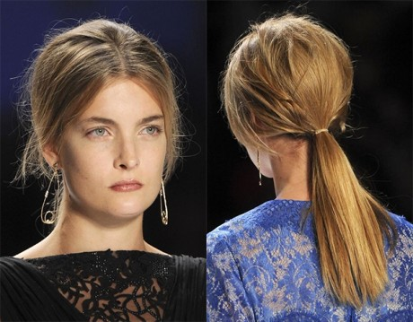 Low Ponytail Hair Style