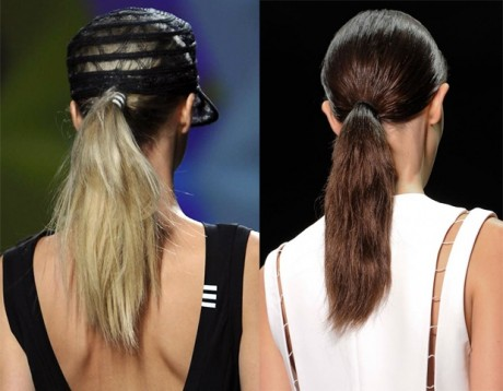 Low Ponytail Style