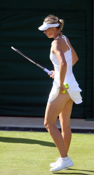 Sexy Maria Sharapova Tennis Picture