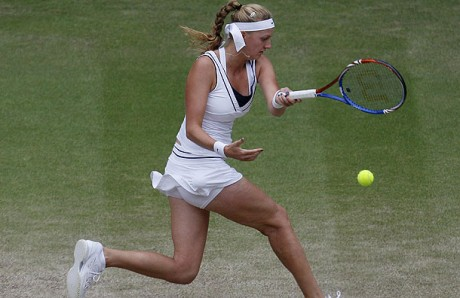 Hot Petra Kvitova White Dress Picture