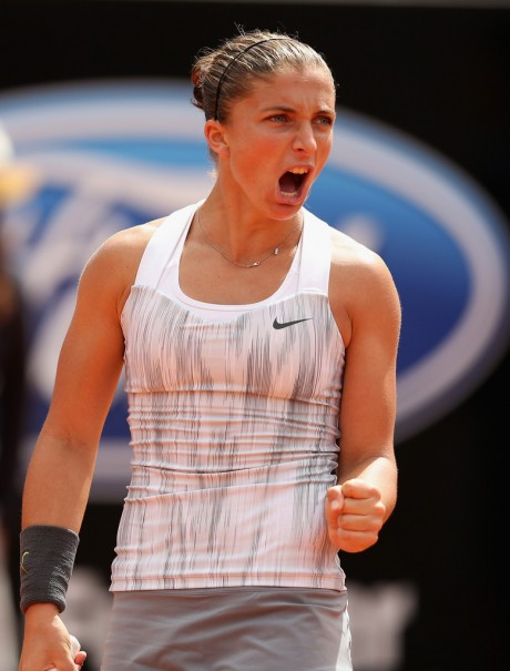 Sara Errani Italian Tennis Player Picture