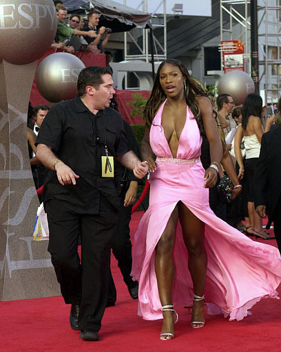 Serena Williams in Sexy Dress