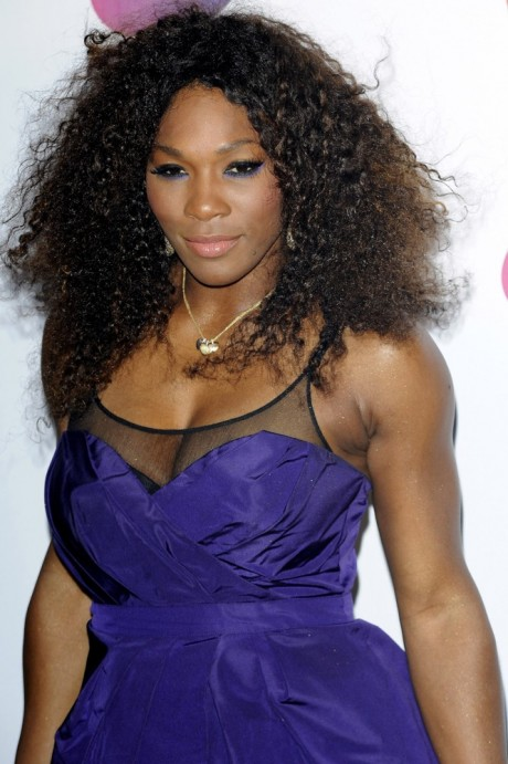 Serena Williams Hot Photo in Blue Dress