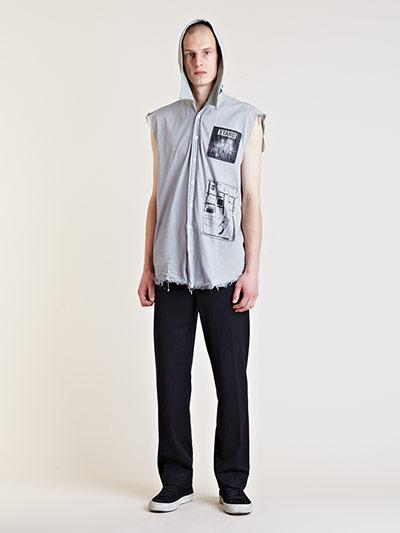 Raf Simons Starts Menswear Archive Sale Sleeveless hoody
