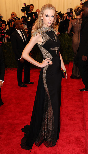 Met Ball fashion in Taylor Swift 2013