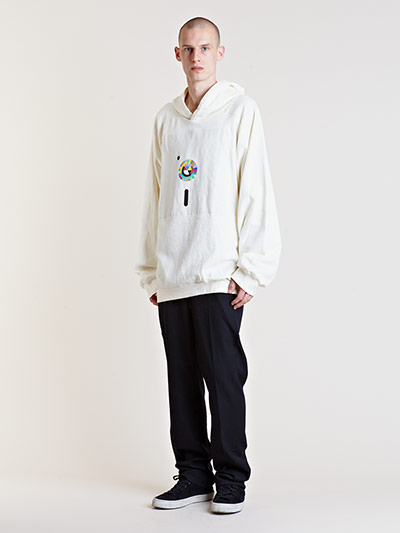 Raf Simons Starts Menswear Archive Sale White hoody