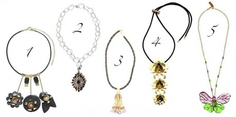 Women's Fashion Jewelry Trends in Spring 2013