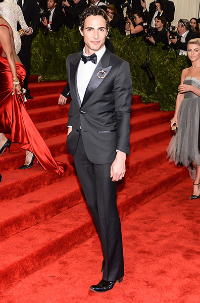 Met ball 2013 Men Fashion on Night  Zac Posen