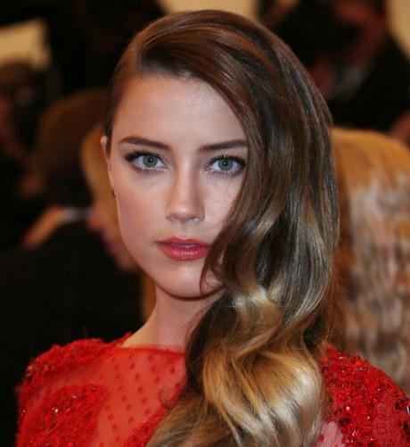 Amber Heard Hair Styles