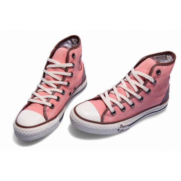 converse-shoes-rose-pink-chuck-taylor-all-star-classic-hi ...