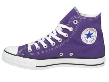 Purple Color Converse Sneakers