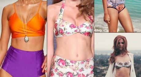 Vintage-Inspired Swimwear 2013
