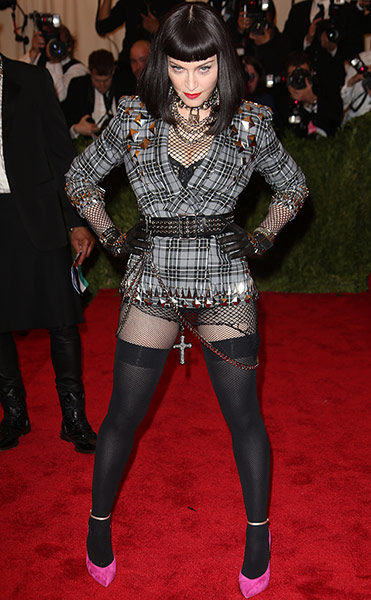 Madona in Met Ball Fashion 2013 New York