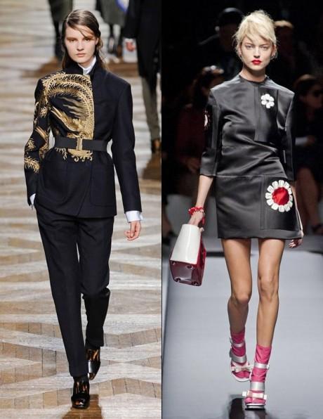 Oriental Inspired Fashion Dress
