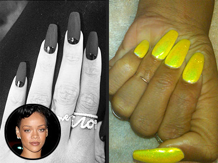 Celebrity Nails Art Rihanna Image