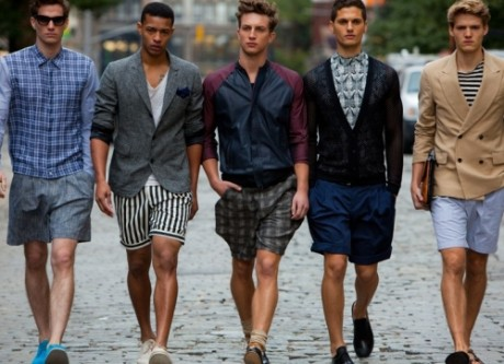 Men's Shorts Trends 2013