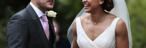 Jessica Ennis's Wedding Picture