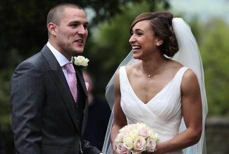 Jessica Ennis's Wedding Picture