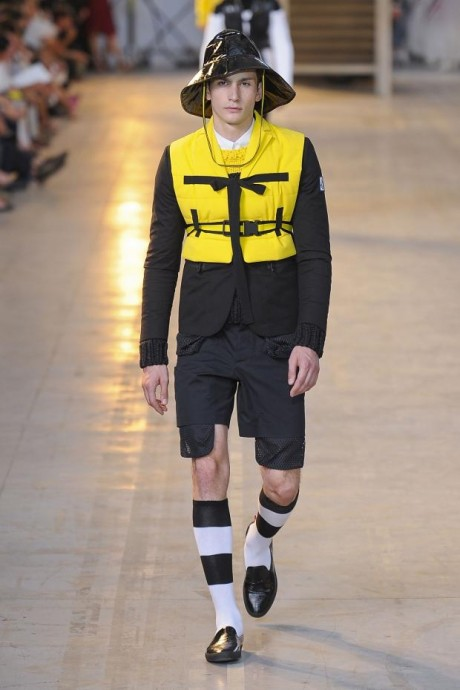 Bright Yellow For Men wear 2013