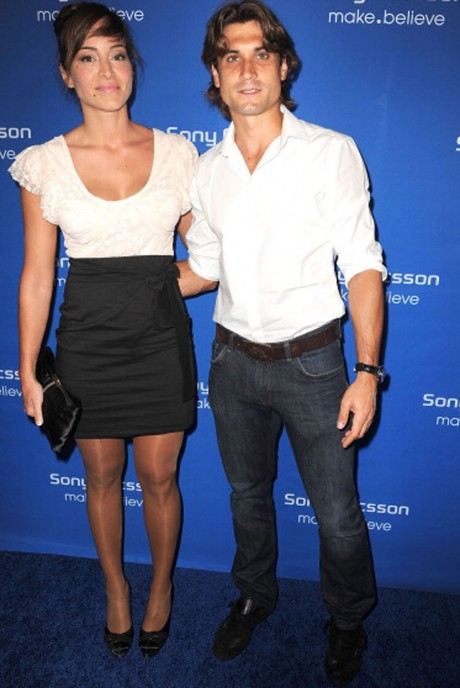 David Ferrer with her girlfriend photo