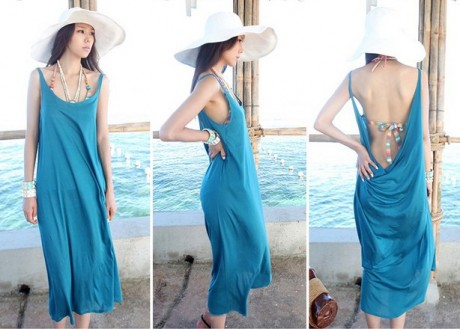 Spring Summer Fashion Beach Dresses 2013 wallpaper
