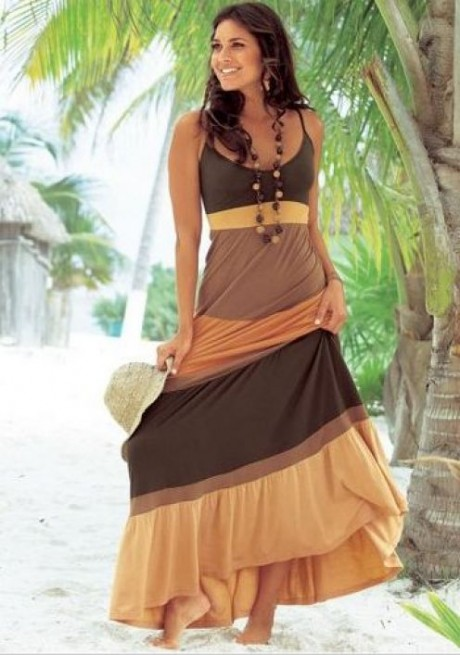 Spring Summer Fashion Beach Dresses 2013 still