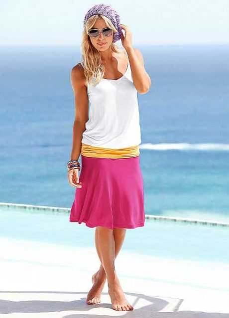 Spring Summer Fashion Beach Dresses 2013 photograph