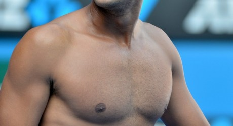 Jo Wilfried Tsonga Hot Shirtless Image