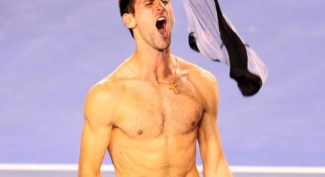 Novak Djokovic Shirtless Hot Photo