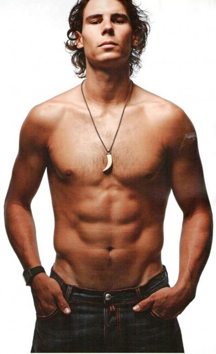 Rafael Nadal Shirtless Hot Pic