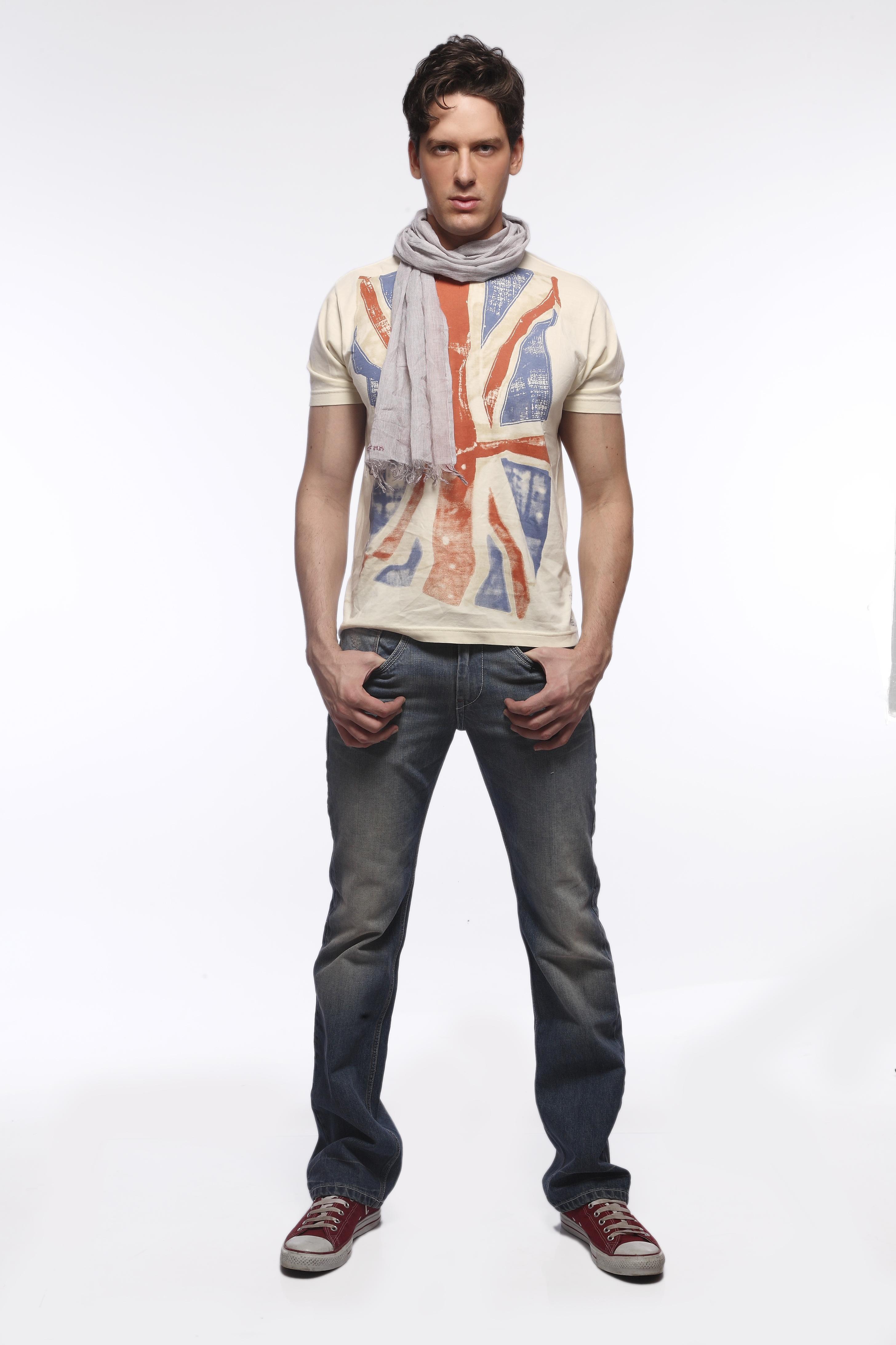 Spring Summer Jeans Fashion Trend Men 2013 Photograph