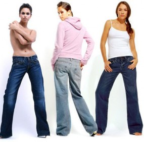 Spring Summer Jeans Fashion Trend Women 2013 Snapshot