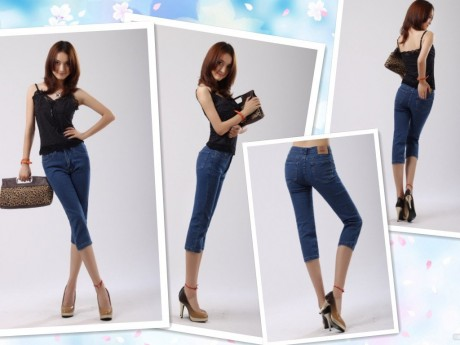 Spring Summer Jeans Fashion Trend Women 2013 Image