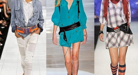 Spring Summer Women Fashion Belts Trends 2013 Image