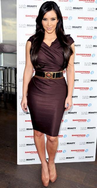 Spring Summer Women Fashion Belts Kim Kardashin Photo